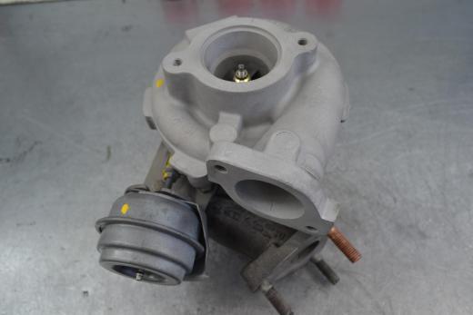 Nissan Navara, ниссан навара, ремонт турбины, 753243-0002