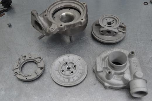 Audi A4, ауди а4, ремонт турбины, 454231-0008