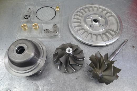 Volvo FH 12, вольво ф аш 12, ремонт турбины, 452164-5001S
