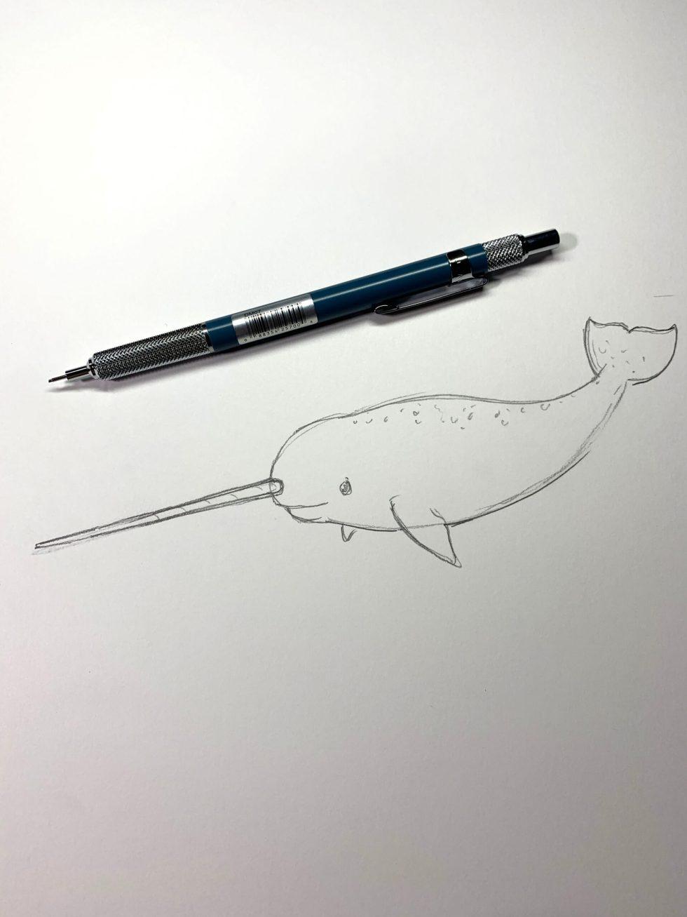 Alvin Draft/Matic .7mm Pencil Image 1