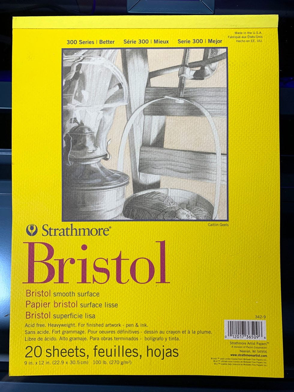 Strathmore Bristol Paper 300 series image 1