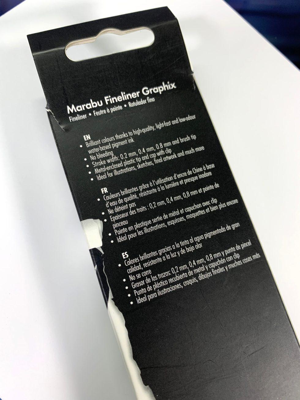 Marabu Fineliner Graphix Pens image 4