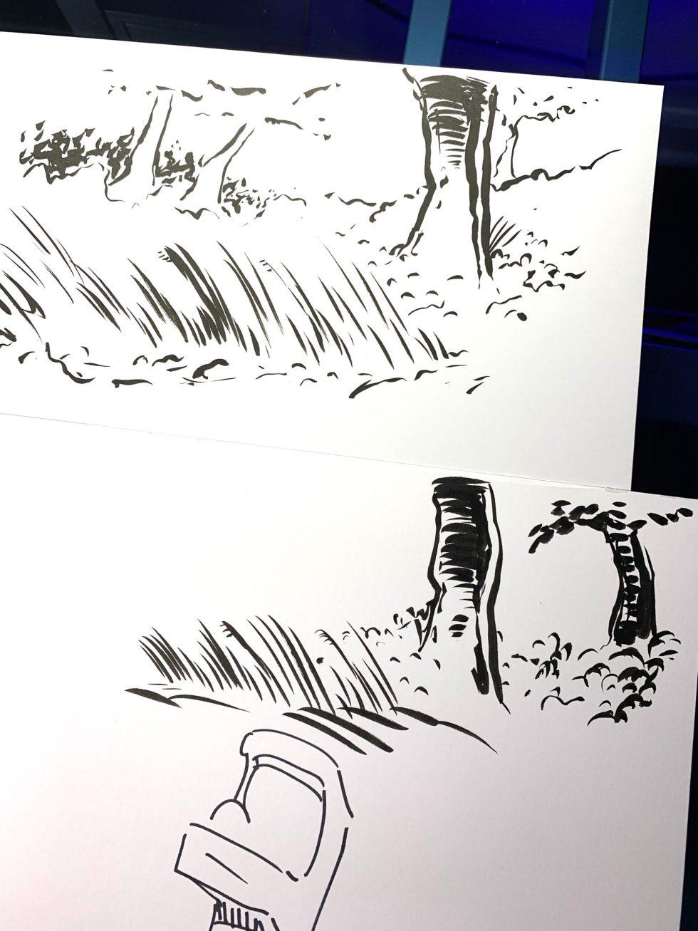 Kuretake No. 50 Fountain Brush image 3