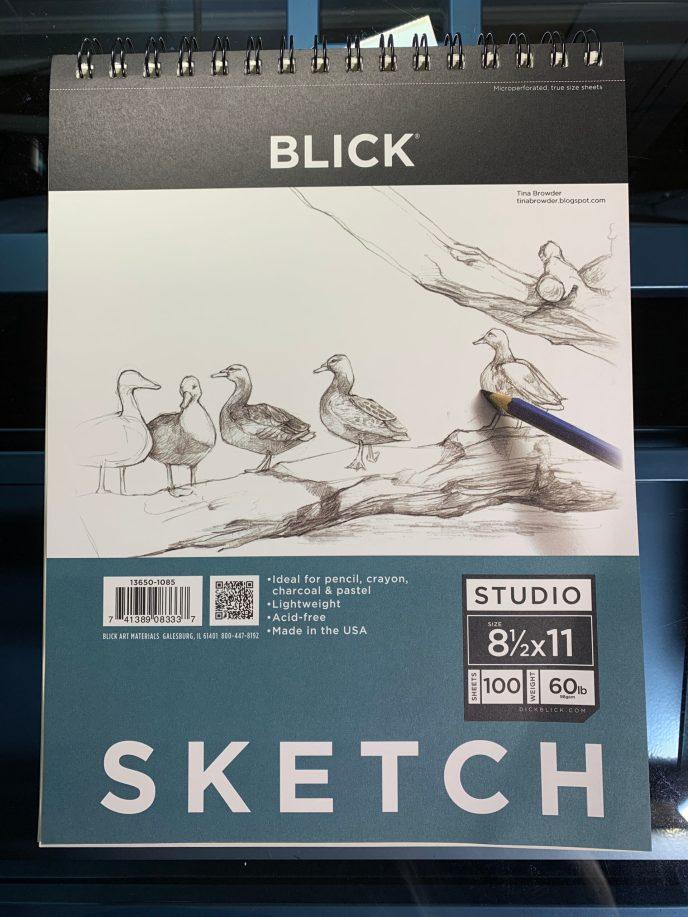 Dick Blick Sketch Paper image 1