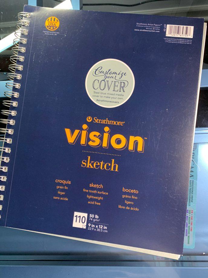 Strathmore Vision Sketch Paper image 1