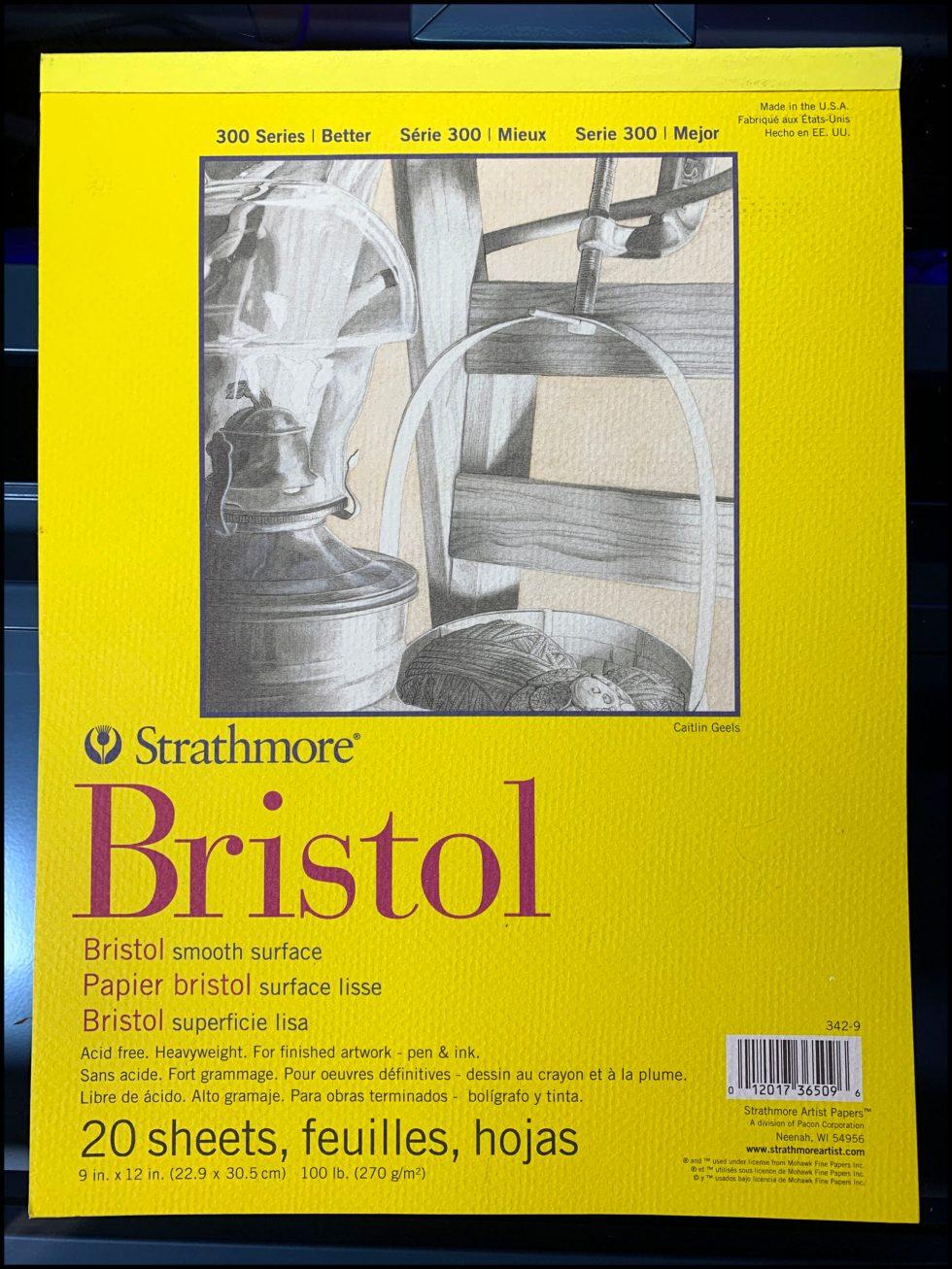Strathmore Bristol 300 Series Paper