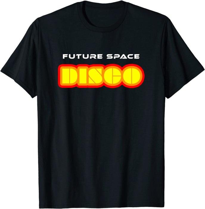 Future Space Disco Tee Dancing Disco T-Shirt