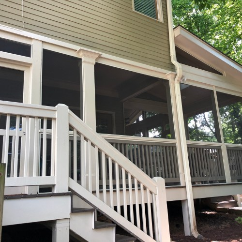 New Screen Porch - After