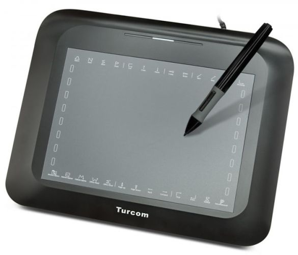 """Turcom TS-6608M Best Graphic Tablet for PC/Mac with Touch Pressure Sensitive Control – 8"""" x 6"""" Drawing Surface Area, 2048 Levels of Sensitivity, 5080 LPI"""