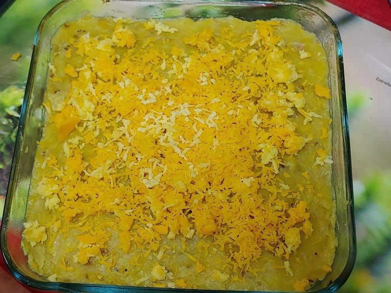 como hacer pastelon de platano amarillo vegano
