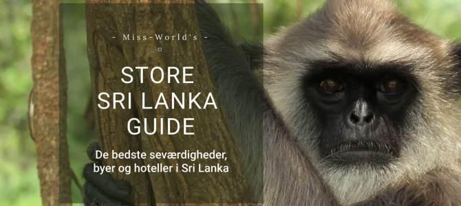 Turen går til Sri Lanka flytter..