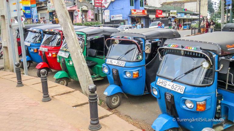 Tuk tuk i Sri Lanka