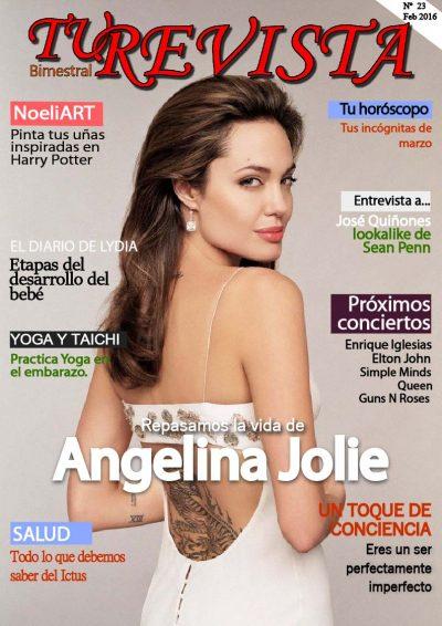 En esta edición te contamos todo sobre la gran actriz Angelina Jolie.