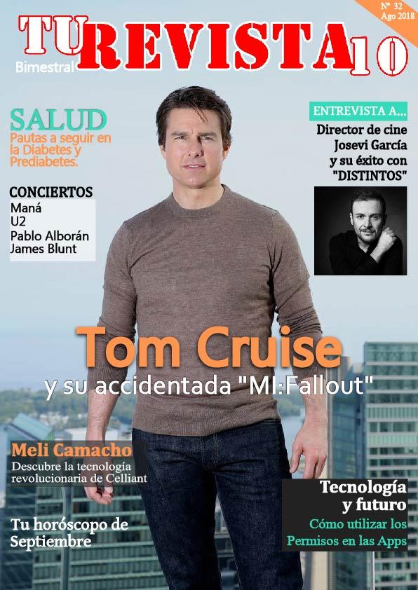 """TOM CRUISE y el estreno de la película """"MISIÓN IMPOSIBLE: FALLOUT"""""""