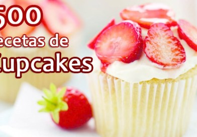 Libro 500 Recetas de Cupcakes