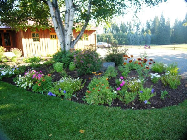flower beds - turfcare landscaping
