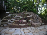 Natural Rock Walkways & Patios - Turfcare Landscaping in ...