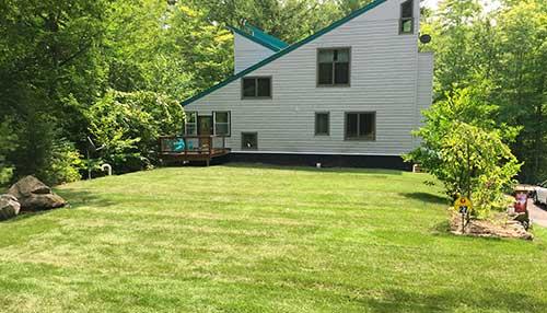 residential sod lawn installation