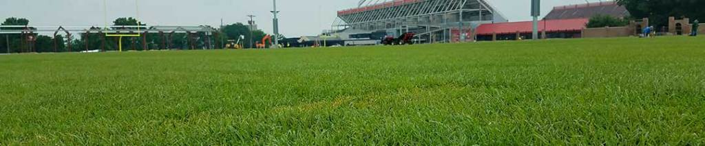 repair and replacement of athletic fields for sports facilities parks and schools