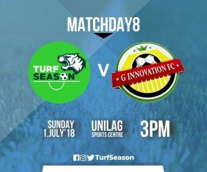 G Innovate FC - Matchday 8 - July 1, 2018