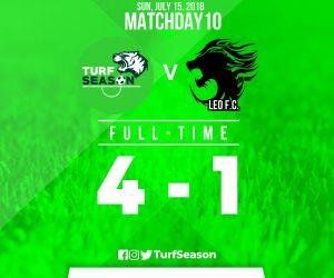 TURF DAY - FINAL SCORE - LEO FC - July 15,2018