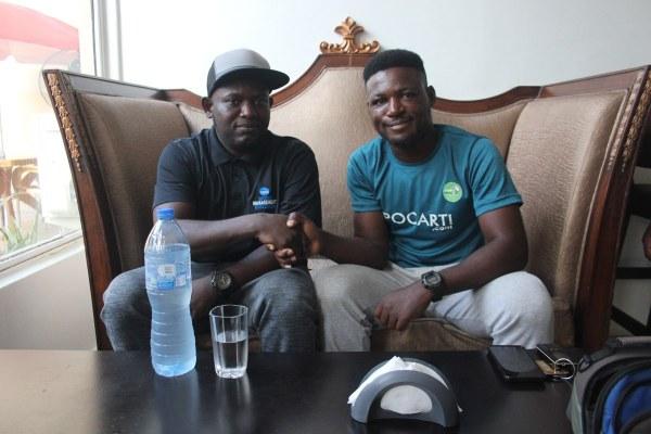 Terence Wandum and Paschal Agonsi