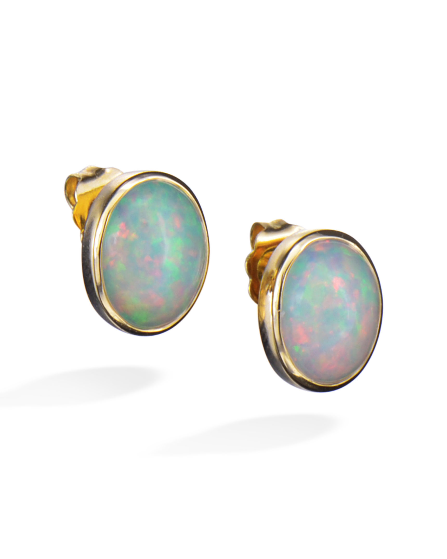 Created Opal Earrings Michael Anthony Jewelry 14k Kids