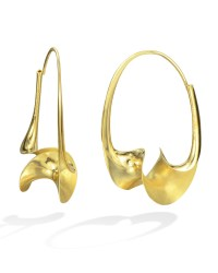 Torque Earrings by Michael Good