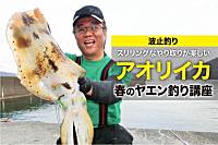 アオリイカの春の釣り方。ヤエン釣り釣り方、ヤエン釣りの仕掛け