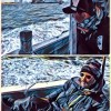 【目印落とし込み】極寒暴風のポーアイ沖は渋かった。寒いし(笑)釣れないその理由はなんじゃらほい。そして釣れる場所とは??