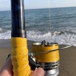 2021年キス釣りは東黒部サーフ周辺で投げ練習からスタートです
