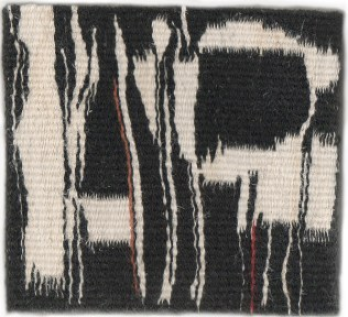 "The Hours. Wool & Linen. 5.25""x5.5"""