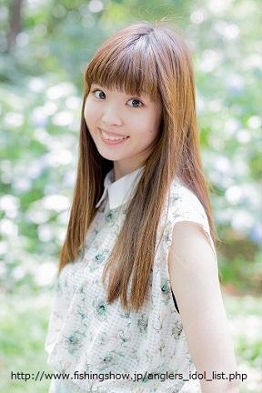 アングラーズアイドル2017 依田知絵美
