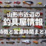 山形市付近の釣具屋(ルアーショップ)の特徴を徹底的に解説!〜欲しいものを買うために〜