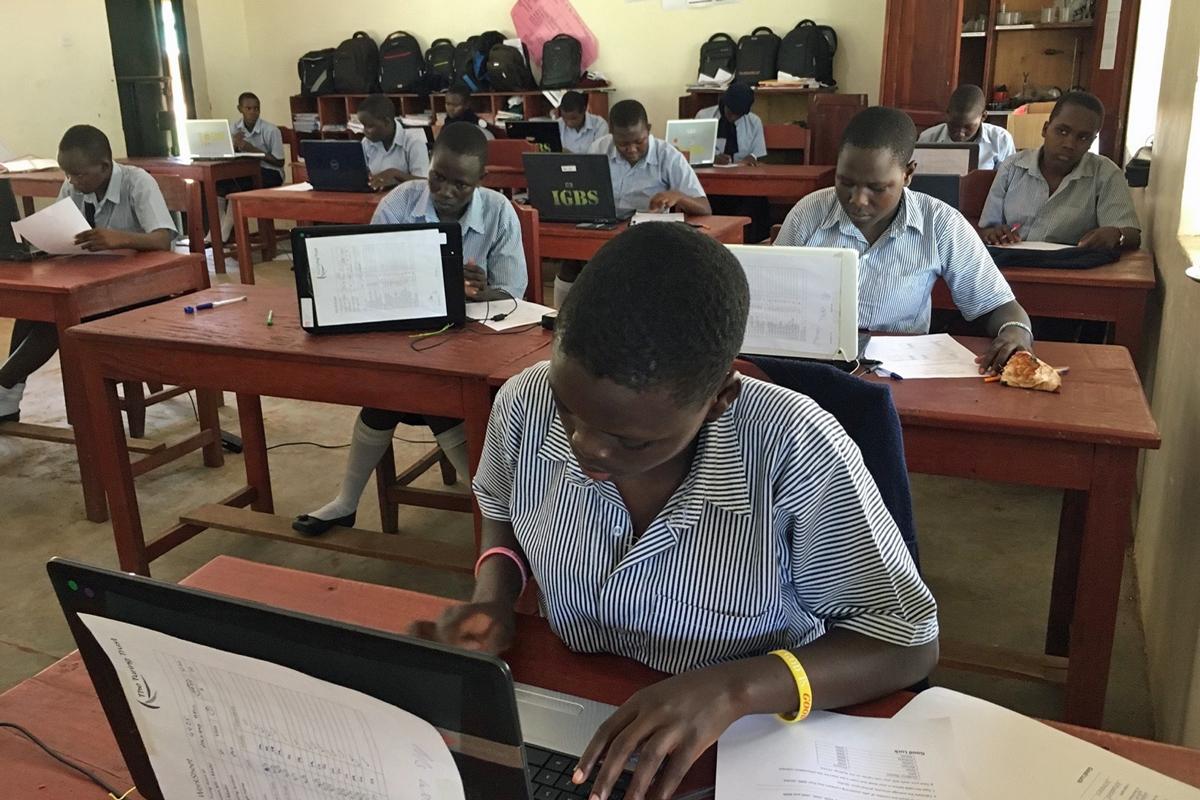 Sending laptops to South Sudan