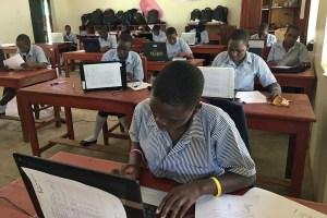Ibba Girls School computer lab