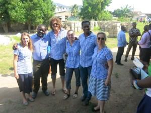 BIPB and Turing Trust teams in Ghana