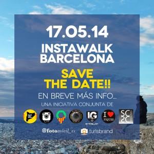 instawalk barcelona save the date2