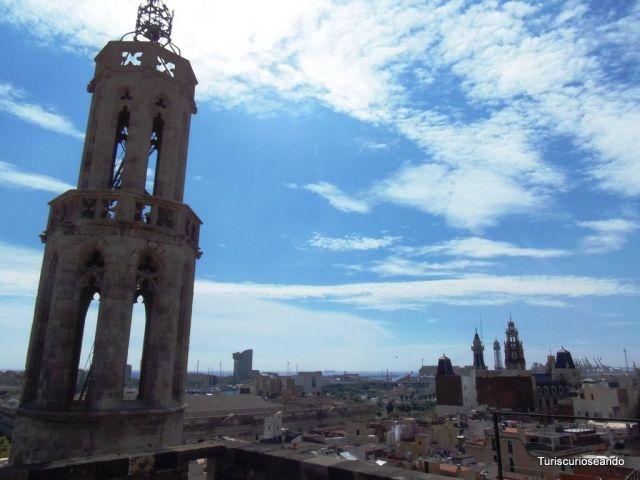 BARCELONA DESDE EL TEJADO DE SANTA MARÍA DEL MAR