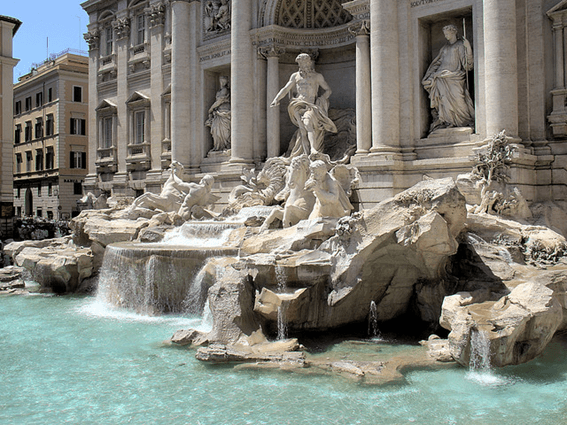 CORAZÓN DE ROMA: LA FONTANA DI TREVI