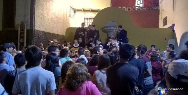 CALLEJONEADA EN GUANAJUATO