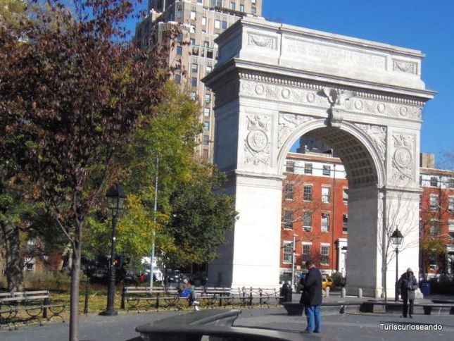 UNION SQUARE, GREENWICH VILLAGE Y METRO NUEVA YORK