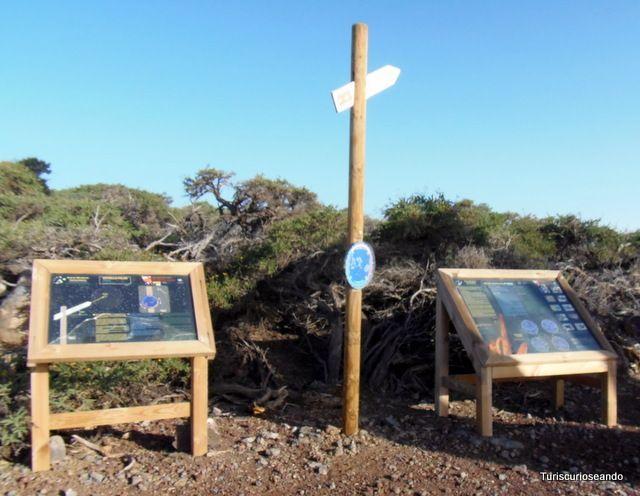 La Palma. Monumento Al Infinito y el Mirador de Los Andenes