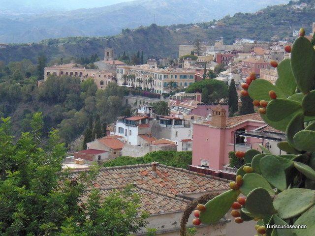 Taormina, refugio de escritores, artistas y famosos