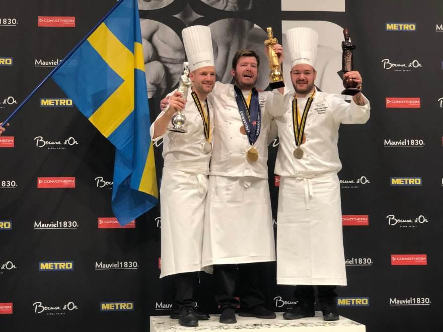 Kenneth Toft-Hansen fra Svinkløv Badehotel vandt i 2019 det uofficielle kokke-VM Bocuse d'Or. (Foto: Bocuse d'Or official)