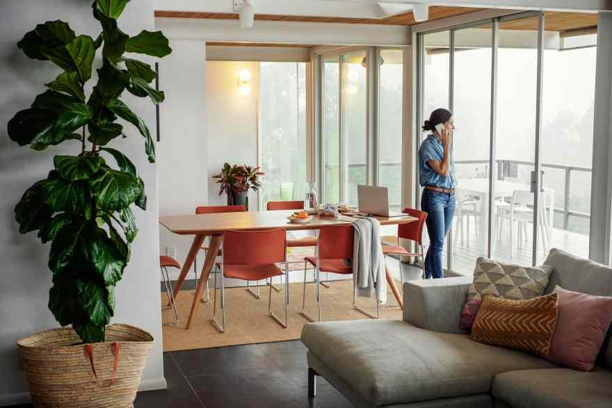 Danskere søger ud af byerne, for at arbejde hjemmefra i mere rolige omgivelser. (Foto: Airbnb)