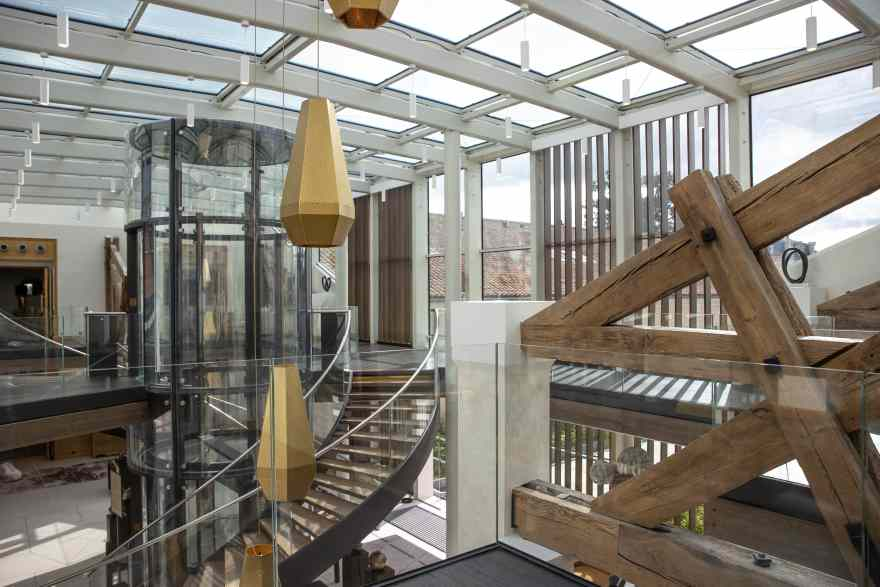 Den franske arkitekt har formået at forene gammelt og nyt, så stedet får en helt særlig stemning. (PR-foto)