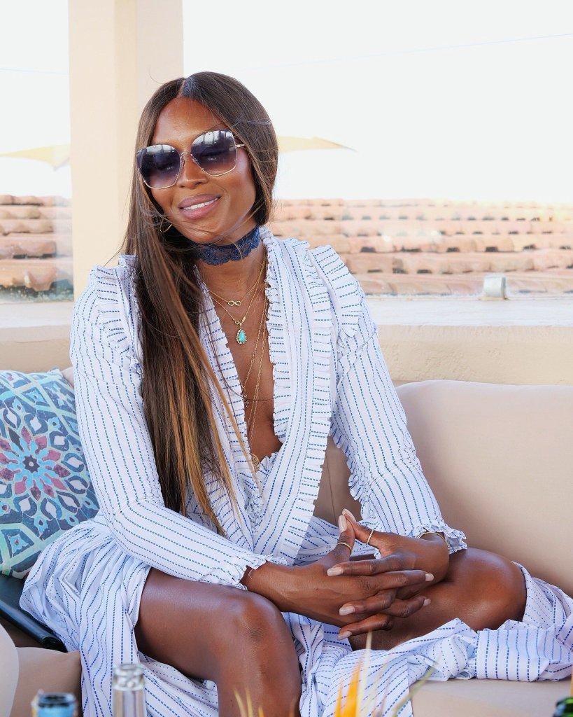 50-årige Naomi Campbell er ny turismeambassadør for Kenya. (Foto: Oliver Valente/MIN_tourismKE)
