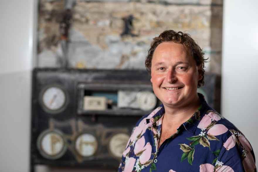 Kristian Krog, direktør, Maltfabrikken Ebeltoft (Foto: Lars Clement)