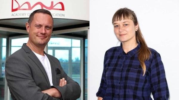 Henrik Sølvbjerg Pahus og Maria Lynggaard Ehmsen